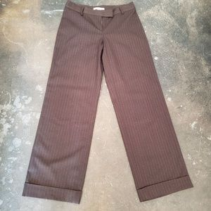 CAbi womens trousers - pinstripe office - 6
